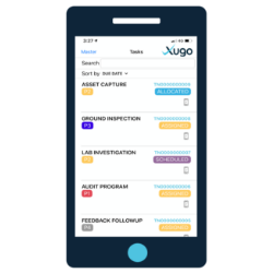 on the go - mobile app Xugo feature